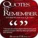 Quotes To Remember - 100 Motivational Quotes, Pt. 1.by Benjamin Bonett